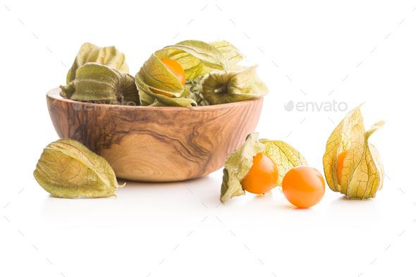 Physalis peruviana fruit. - Stock Photo - Images