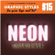 3D Realistic Neon Light Graphic Style - GraphicRiver Item for Sale