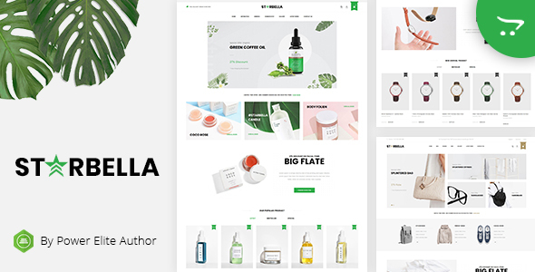 StarBella - Multipurpose OpenCart 3 Theme - Shopping OpenCart