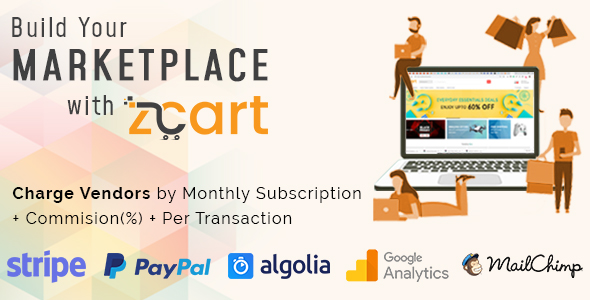 zCart Multi-Vendor E-Commerce Platform Free Download | Nulled