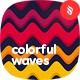 Seamless Colorful Waves Backgrounds - GraphicRiver Item for Sale
