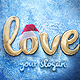 Christmas Gold Logo - VideoHive Item for Sale