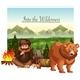 Into The Wilderness Scene - GraphicRiver Item for Sale