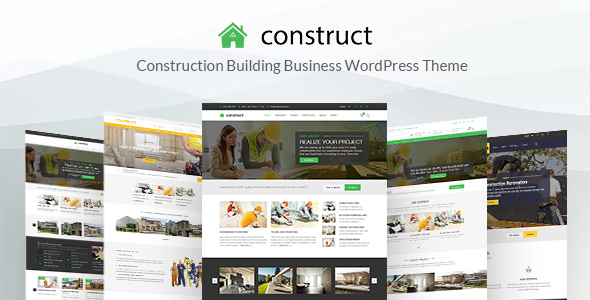 Construct - Construction WordPress Theme - Business Corporate