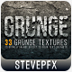 Free Download 33 Grunge Textures Nulled
