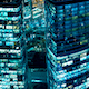 Night City Skyscrapers - VideoHive Item for Sale