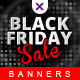 Black Friday Sale Web Banner Set - GraphicRiver Item for Sale