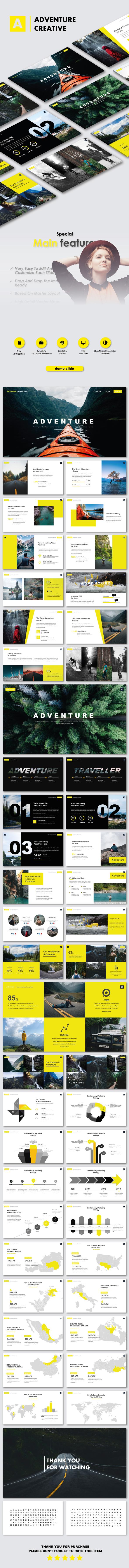 Adventure Creative Google Slide Templates - Google Slides Presentation Templates