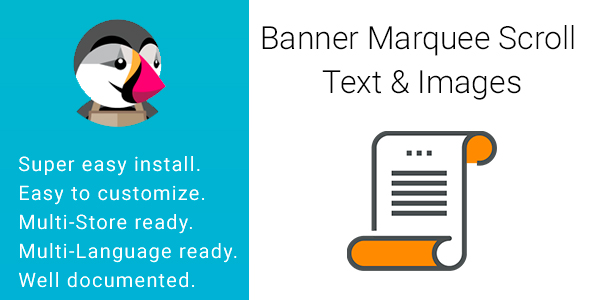 Banner Marquee Scroll Text & Images            Nulled