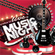 Live Music Night Show - GraphicRiver Item for Sale