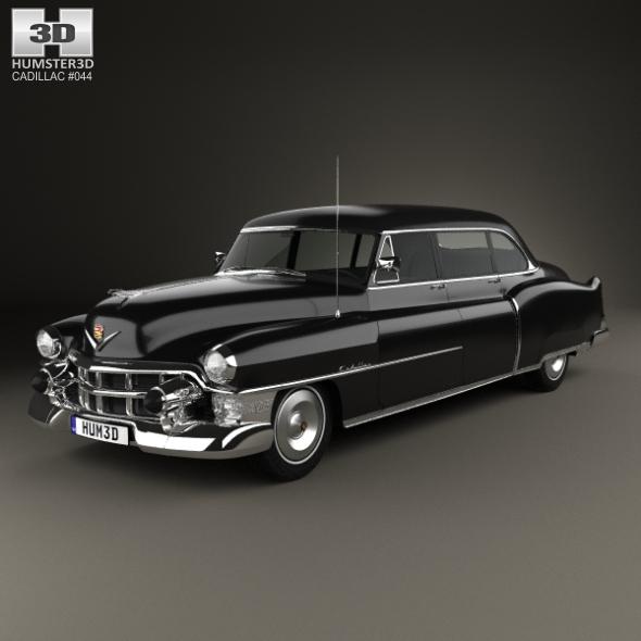 Cadillac 75 sedan 1953