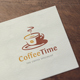 Coffee Time Logo - GraphicRiver Item for Sale