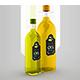 Free Download Vegetable Oil Glass Bottle Mockup Nulled