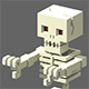 Voxel Skeleton - 3DOcean Item for Sale