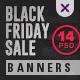 Black Friday Sale Web Banner Set - GraphicRiver Item for Sale
