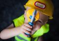 Little boy dressed as foreman builder - PhotoDune Item for Sale