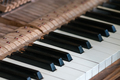 Close up of keys of an old vintage piano - PhotoDune Item for Sale