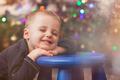 Happy cute boy portrait at Christmas - PhotoDune Item for Sale