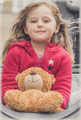 Portrait of a girl with teddy bear - PhotoDune Item for Sale