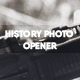 History Photo Opener - VideoHive Item for Sale