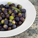 Fresh olives in a white plate - PhotoDune Item for Sale