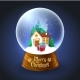Christmas Snowglobe with House - GraphicRiver Item for Sale