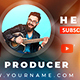 Multipurpose YouTube Banners - GraphicRiver Item for Sale