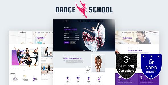 Dance School |  Dance Studio, Dance Academy Theme - Art Creative
