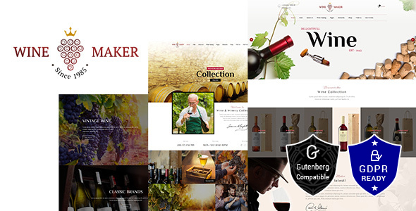 Wine Maker - Wine, Winery Theme