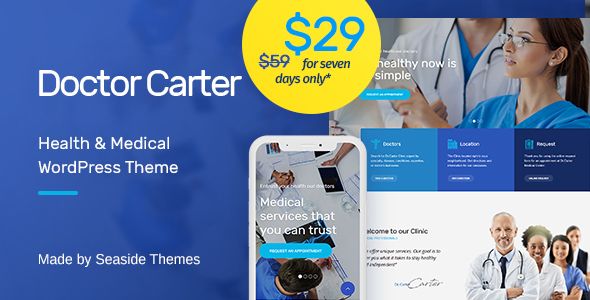 Doctor Carter - Medical WordPress Theme
