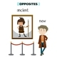 Opposite Word of Ancient New - GraphicRiver Item for Sale