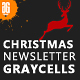 Free Download Christmas and New Year Responsive Email Templates Nulled