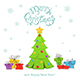 Christmas Tree with Presents - GraphicRiver Item for Sale