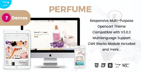 Perfume - Opencart Multi-Purpose Responsive Theme - OpenCart eCommerce