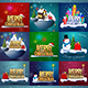 Merry Christmas Compositions - GraphicRiver Item for Sale