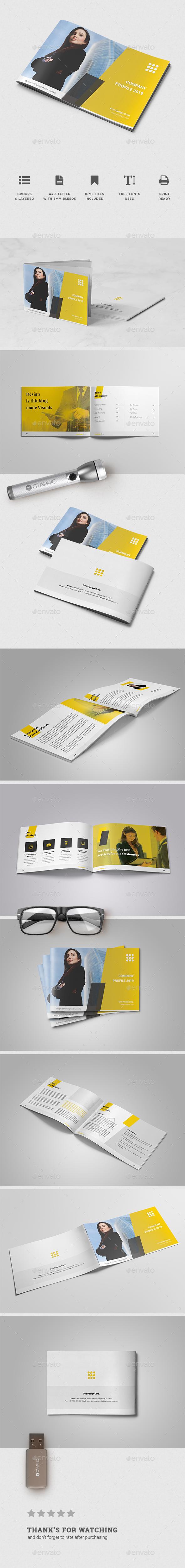 Corporate Brochure Template Vol. 46 - Brochures Print Templates