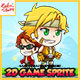 Metal Soldier Marco - 2D Game Character Sprites - GraphicRiver Item for Sale