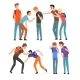 Conflict Between Teenagers - GraphicRiver Item for Sale