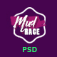 Mud Race - Single Event Fundraiser PSD Template - ThemeForest Item for Sale