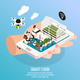 Smart Farm Composition - GraphicRiver Item for Sale