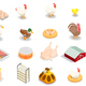 Poultry Production Isometric Set - GraphicRiver Item for Sale
