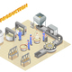 Cheese Production Isometric Composition - GraphicRiver Item for Sale
