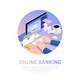 Accounting Online Banking Isometric Composition - GraphicRiver Item for Sale