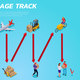 Logistic Delivery Isometric Horizontal Illustration - GraphicRiver Item for Sale