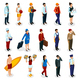Professions Isometric People - GraphicRiver Item for Sale