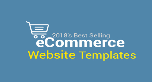 2018's Best Selling eCommerce Website Templates