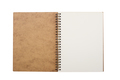open notebook with metal spiral - PhotoDune Item for Sale
