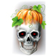 Skull with Pumpkin - GraphicRiver Item for Sale