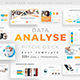 Analyse Data Pitch Deck Keynote Template - GraphicRiver Item for Sale