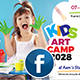 Kids Art Camp Facebook Cover Template - GraphicRiver Item for Sale